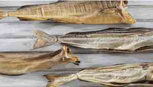 Four pieces of stockfish